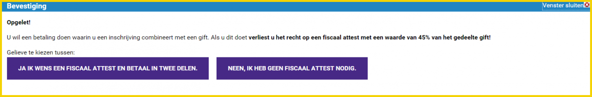 fiscaal attest gift levensloop