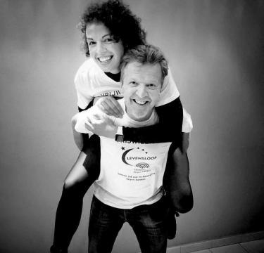 Lucas Van den Eynde en Sofie Hendrickx